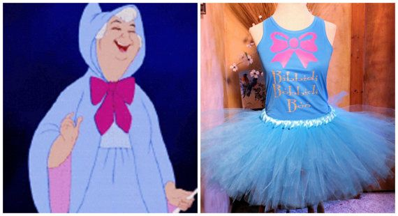 RUN DISNEY FULL OUTFITS START AT $40!   Bibbidi Bobbidi Boo Fairy Godmother Costume by HandpickedHandmade, Cinderella Fairy Godmother costume, Run Disney Tutu, Run Disney Costume, Run Disney Outfit