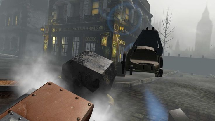 Iconic Victorian London landmarks loom, but you have a mission to complete #HTCVive http://ow.ly/7DIu309eMe7