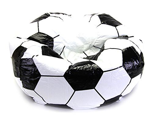 Score the game winning goal with the sports fanatics in your life by bringing home the Soccer ball Sports Bean Bag. Watch your favorite players fight their way ...