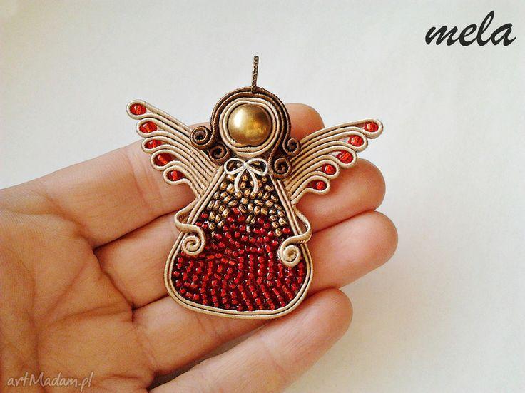 • wisiorki, biżuteria - angelo wisiorek sutasz aniołek tył bez