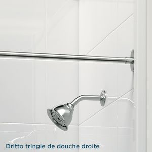 1000 id es sur le th me tringle de douche sur pinterest for Tringle et rideau de douche