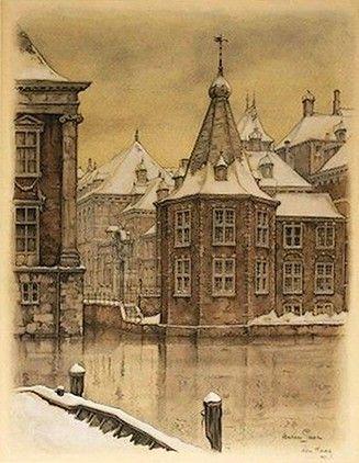 Torentje, den Haag, Anton Pieck