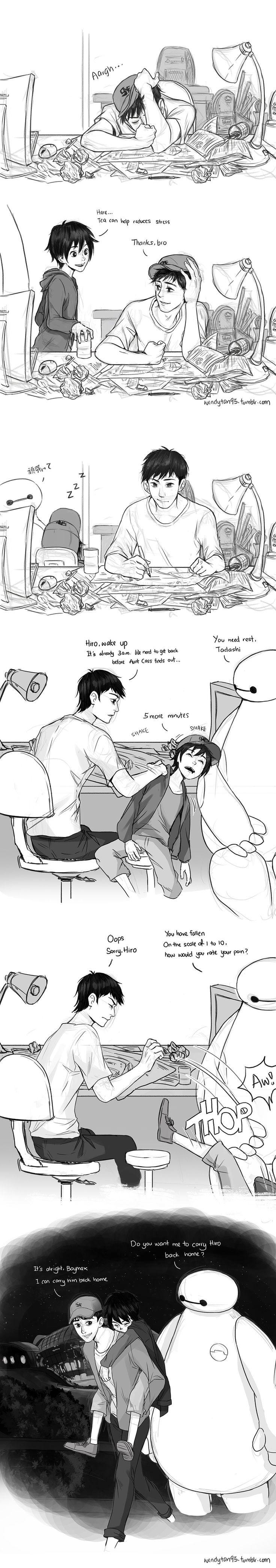 Stressing Tadashi by WendyTanSW.deviantart.com on @DeviantArt (In another life... *cries*)