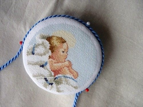 Photobucket medaglioni cross stitch christmas☆https:// www.pinterest.com / sorammala ☆