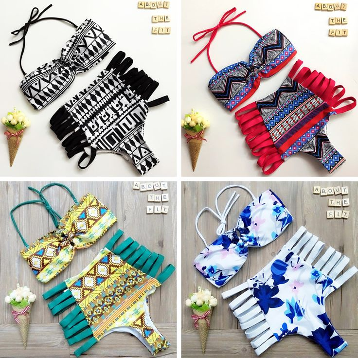 Biquini Feminino 2016 New Bikini Sexy Bathing Swimming Suit Push Up Swimwear Top High Waist Plus Size Bikini Set Maillot De Bain