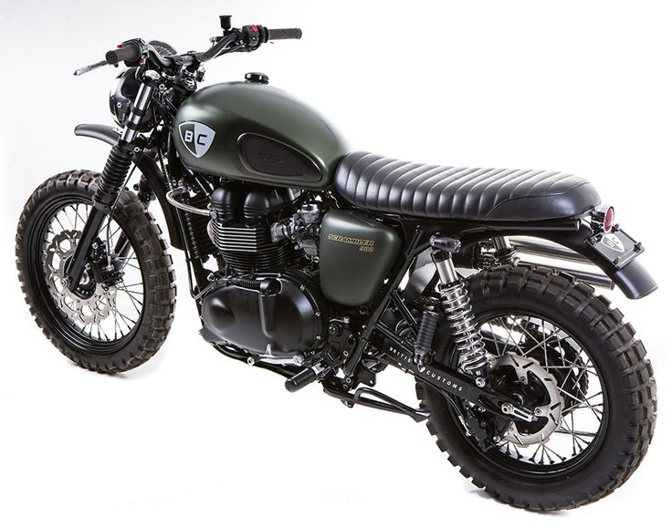 British Customs Slammer Seat: Triumph Motorcycle Parts | Motorcycle Gear | British Customs