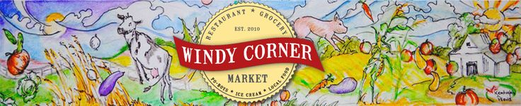 Windy Corner Market and Restaurant is a great place to eat and purchase local food and goods.