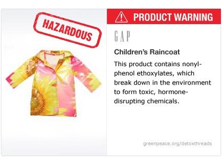 GAP raincoat   #Detox #Fashion