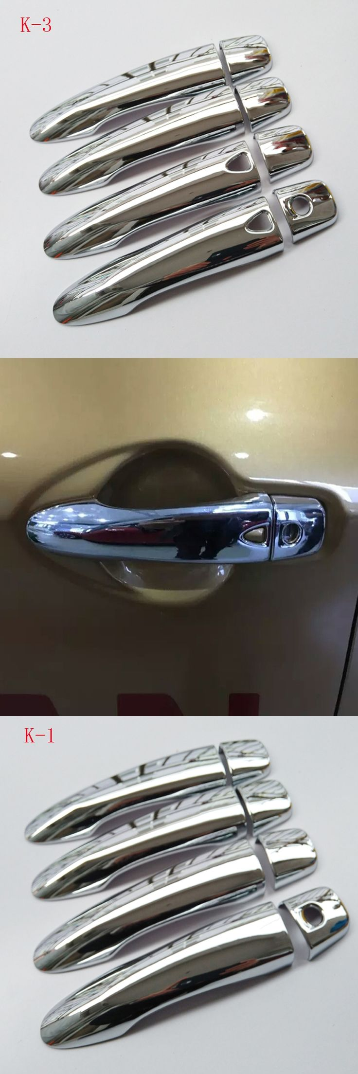 Free Shipping For Nissan QASHQAI 2015 ABS chrome Door Handle Cover Door Handle straps car accessories