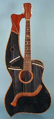 Zither Harp Guitar
