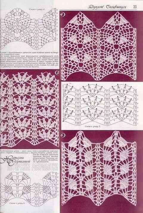 Graficos crochet