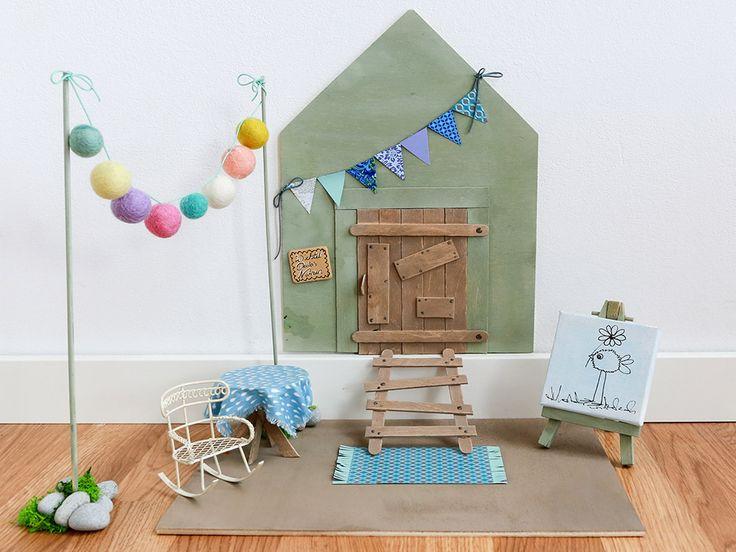 Die Wichteltüre im Kinderzimmer – das Bastelprojekt für Familien