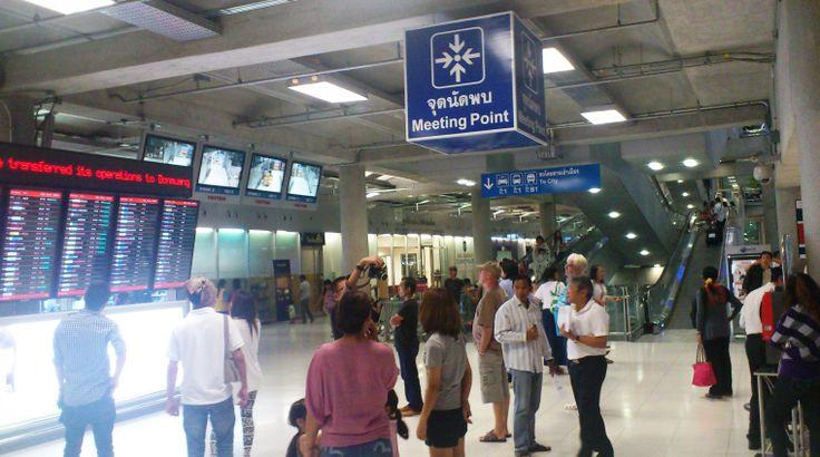 Meeting Point at Bangkok Airport