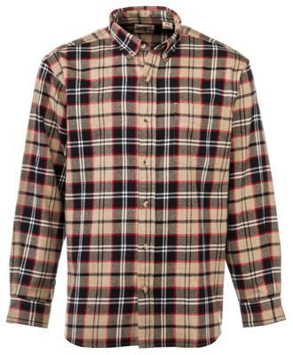 RedHead Ultimate Flannel Shirts for Men - Khaki Heather - XLT