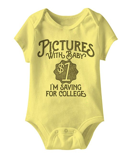 Banana 'Pictures With Baby' Bodysuit - Infant