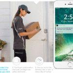 Amazon lanza en la entrega a domicilio servicio llamado Amazon Clave alimentado por una cámara y el bloqueo inteligente