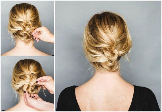 Einfache Frisuren Für Schulterlange Haare Frisurenhaar Pinterest