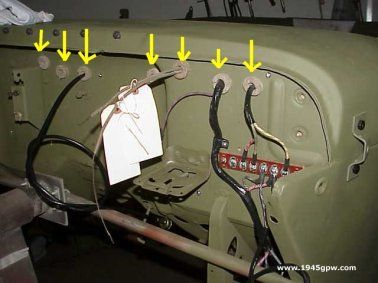 willys jeep electrical wiring willys jeep distributor wiring