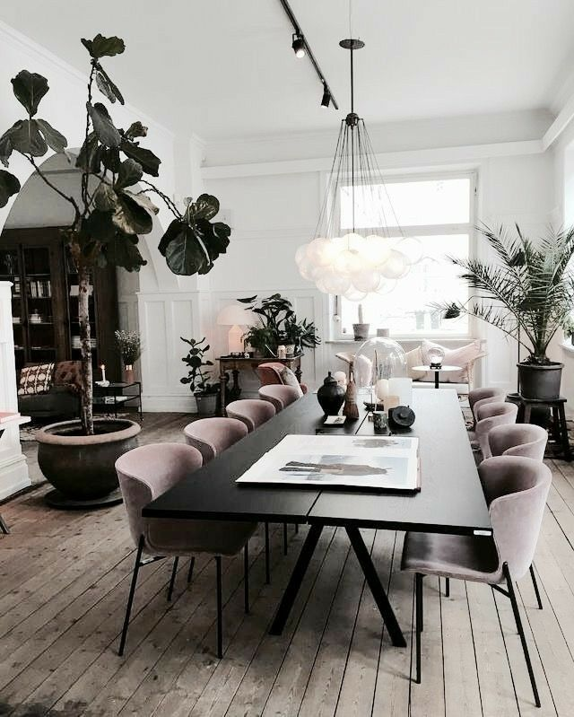 Pinterest Ryahbree Minimalist Dining Room Living Room Decor Modern Modern Dining Room