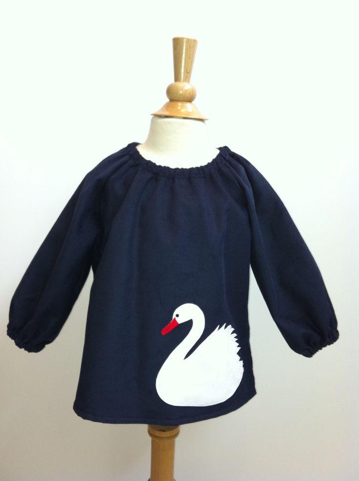 Swan Jumper by sastirosielife on Etsy