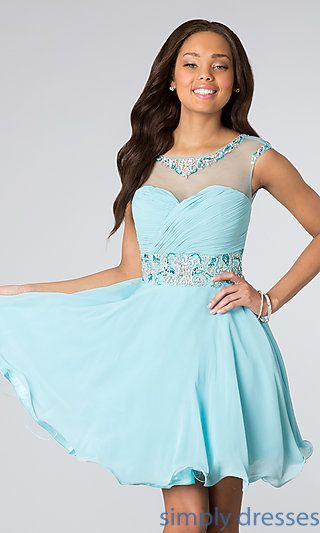 Short Dress for Prom at SimplyDresses.com