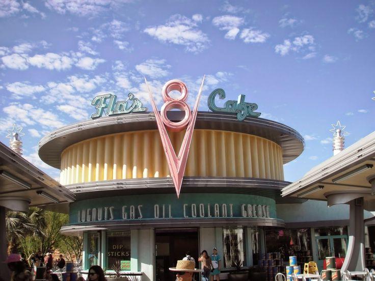 Miquelli's Amerikablog: Themepark attractie: Radiator Springs Racers, Disn...