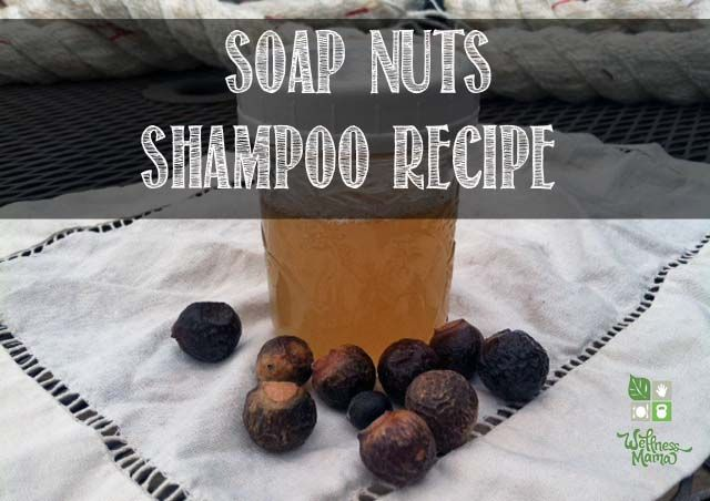 Soap Nuts Shampoo from wellnessmama.com. I didn't know you could use these for shampoo. I wonder how well it actually works? They're great for most laundry.