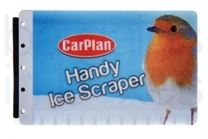 Credit Card Ice Scraper: CarPlan