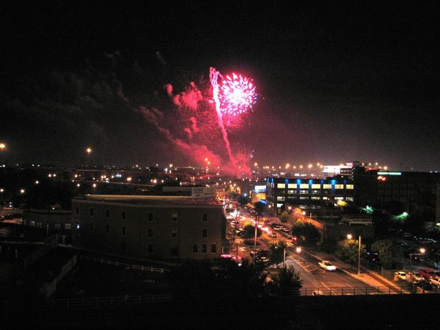 July 4th Fireworks in Oklahoma City.: 4Th Fireworks, July 4Th