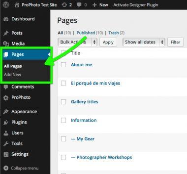 <p>Σε αυτό το άρθρο θα δουμε πως μπορούμε να κάνουμε δημιουργία σελίδας στο wordpress. Μια σελίδα wordpress περιλαμβάνει σελίδες και άρθρα. Στα Αγγλικά οι σελίδες ονομάζονται pages και τα άρθρα ονομάζονται posts. Άρθρα και σελίδες στην κατασκευή ιστοσελίδων Πριν περάσουμε στη δημιουργία σελίδας στο wordpress πρέπει να πούμε κάποια πράγματα …</p>