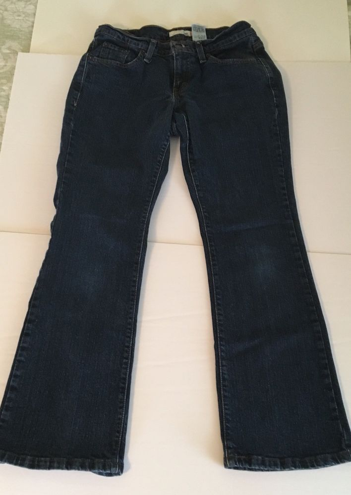 Levi s Women s Style 529 Curvy Jean Size 6 P Bootcut Stretch Inseam 28 1/2""