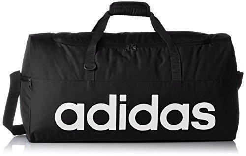 Oferta: 25€ Dto: -10%. Comprar Ofertas de adidas AJ9923 - Bolso deportivo rendimiento lineal, color Negro / Blanco, talla S barato. ¡Mira las ofertas!
