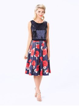 Oriental Bloom Skirt