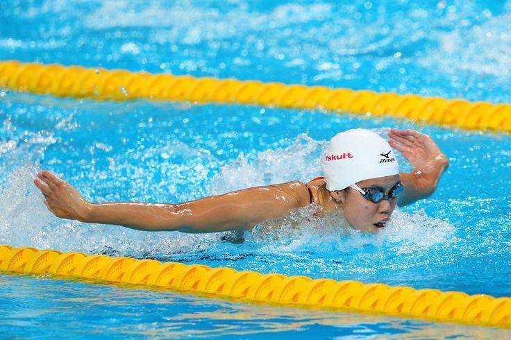 [写真特集]星奈津美が病乗り越え涙の金…世界水泳女子200mバタフライ