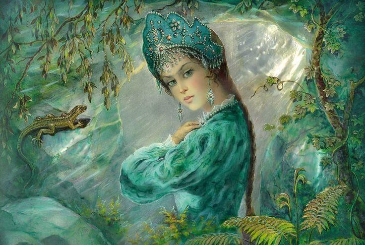 Хозяйка медной горы картинки из мультфильма