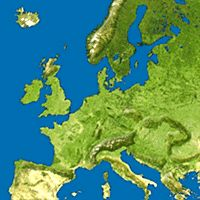 Euroopan vuoristot