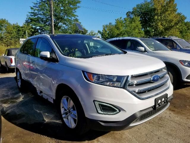 Salvage 2017 Ford Edge Sel Suv For Sale Salvage Title