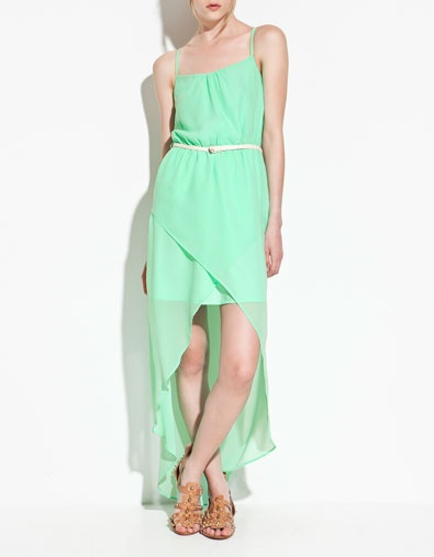 DRESS WITH FRONT OPENING -