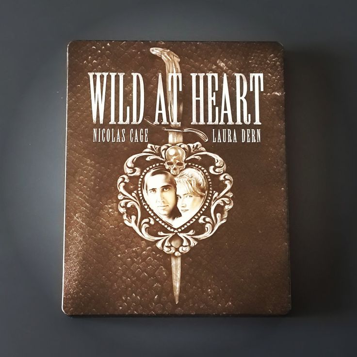 "Blu-ray ""Wild at Heart"" - Zavvi Exclusive Limited Edition Steelbook (B, 2500 copy) UK / ""Дикие сердцем"". Страна: Англия. Регион: B."