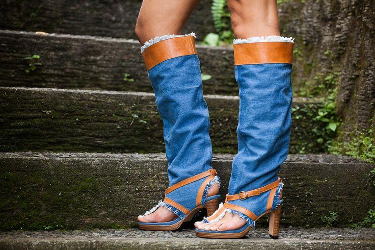 Модель: Флорида. Модные, стильные сапоги, которые можно носить летом. Сочетайте их с шортами, юбочками, платьями - они прекрасно будут смотреться с любым видом одежды и выгодно подчеркнут ваш стиль!