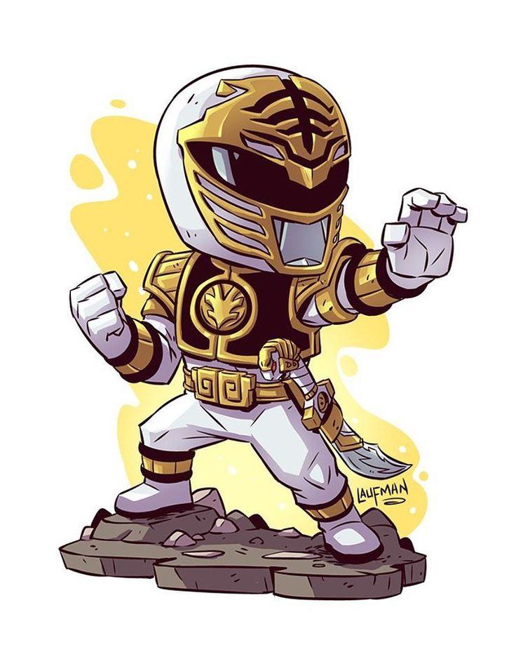 """5,839 curtidas, 26 comentários - Derek Laufman (@dereklaufman) no Instagram: """"Chibi Power Ranger prints now on sale at www.dereklaufman.com (link in my profile)  #PowerRangers…"""""""