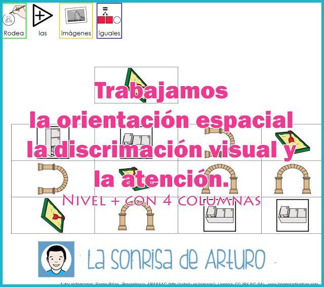 Fichas discriminación visual/orientación espacial nivel IIFichas discriminación visual/orientación espacial nivel II