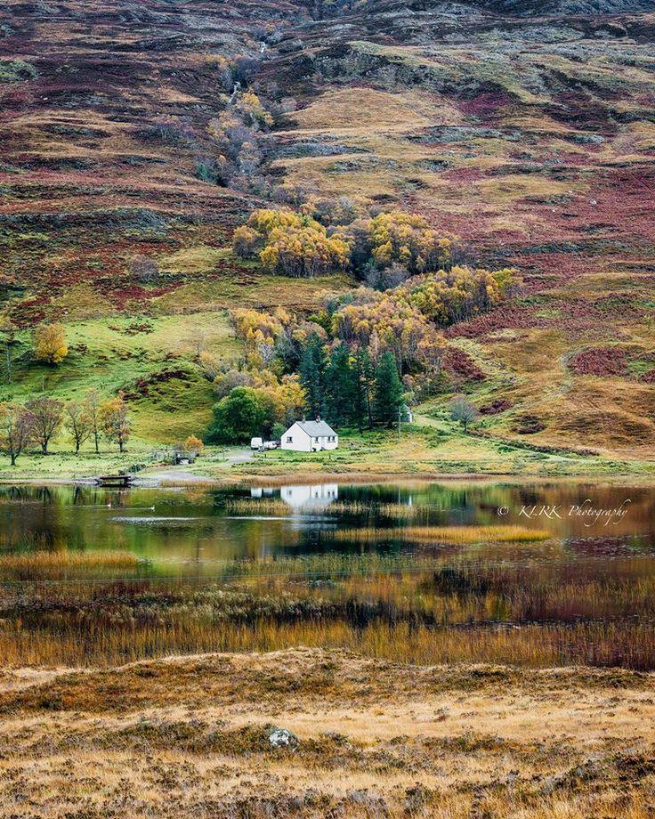 Loch Damh Scotland