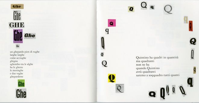 from: Alfabetiere - Bruno Munari