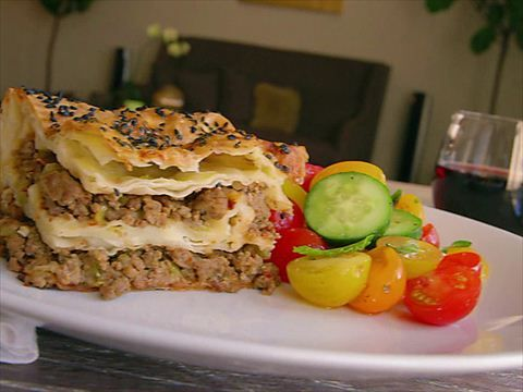 Turkish Borek. Scott Conant certainly knows how to make a mean meat pie! MMMmmm...
