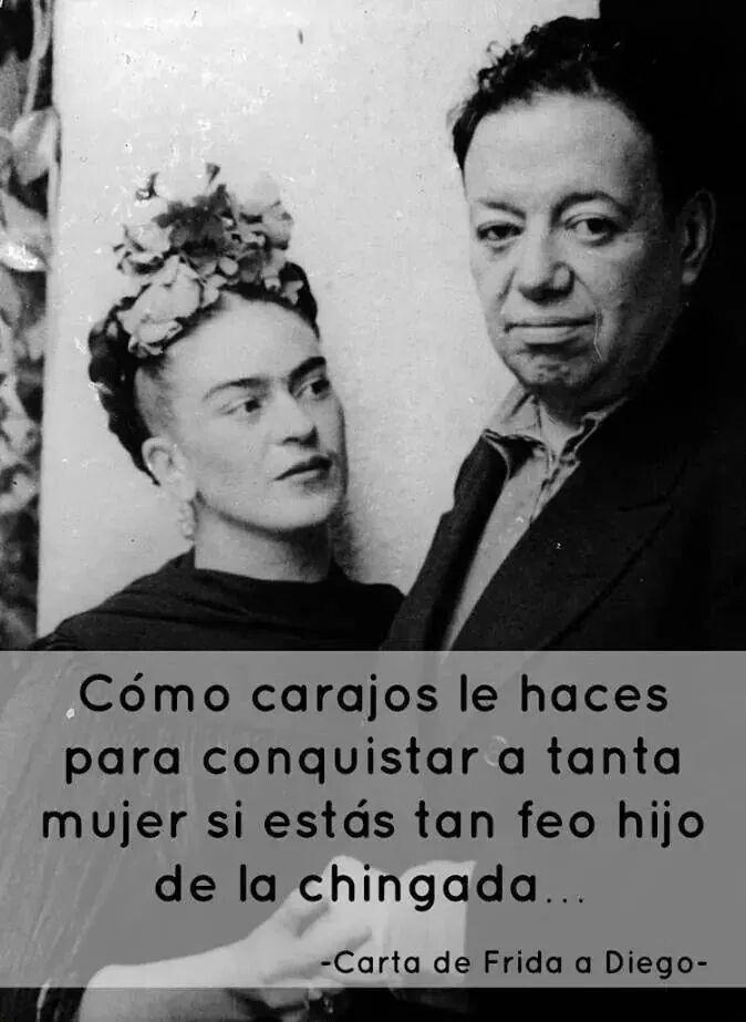 Carta de Frida Kahlo a Diego Rivera.