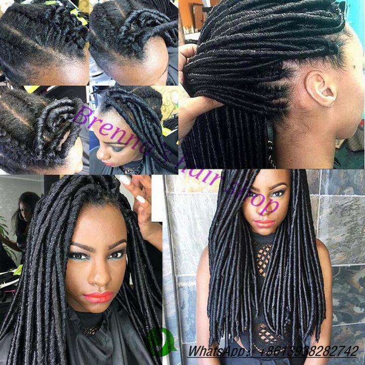 14'' natural kanekalon braided faux locks hair,faux locs braids hair,Janet Collection 2X Havana Mambo dreadlock braiding hair
