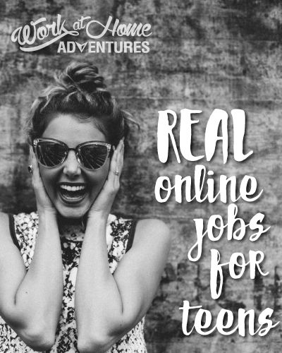 A List of Real Online Jobs for Teenagers