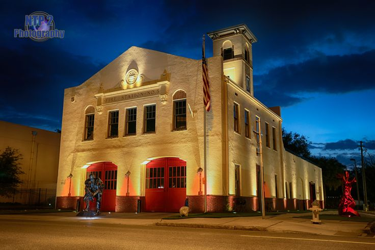 Old Firehouse #5 located in Tampa, FL built in 1925 and has recently been renovated and open to the Public. #ntp2 #firehistory #firehouse