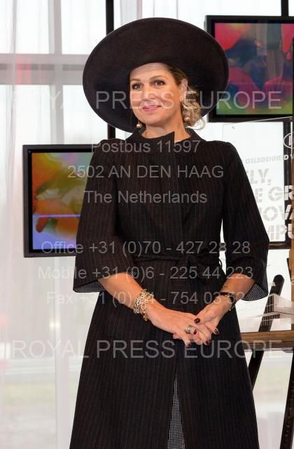 Royal Press Europa - Royal photoagency - © Albert Nieboer & Albert Philip van der Werf. Queen MaximaEurope